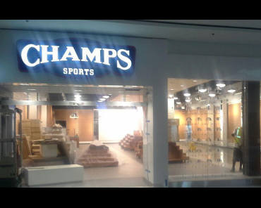 Champs Sporting Goods store